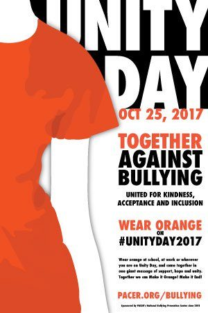 October 25th Unite Together Against Bullying