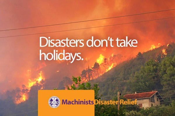 Disasters Don't Take Holidays