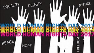 This Sunday is Human Rights Day