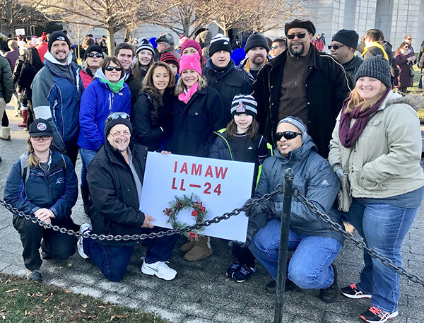 Machinists Honor Military on 'Wreaths Across America' Day