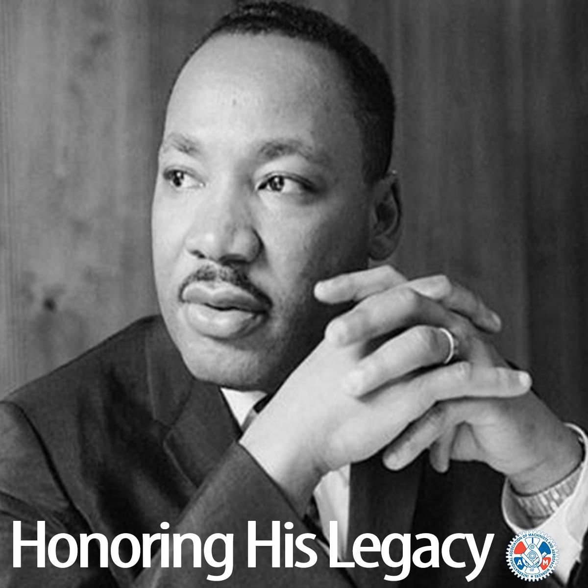IAM Honors MLK's Legacy