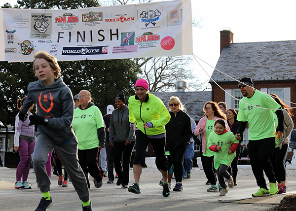 Help Raise Heart Rates and $ for Guide Dogs at Annual 5K at Winpisinger Center