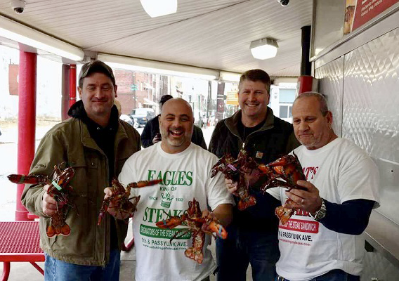 Super Bowl Bet Brings Machinist Maine Lobster to Philly