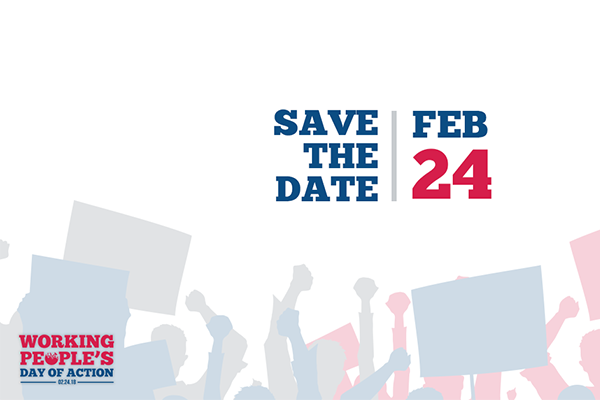 Join Us at the Working People's Day of Action
