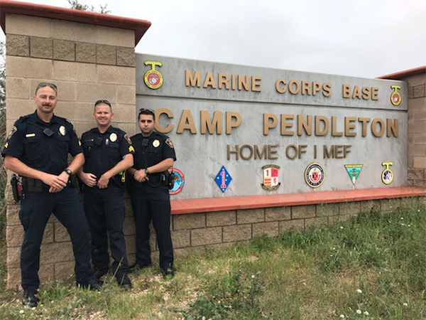 'Fighting on All Levels' for Camp Pendleton Police Officers