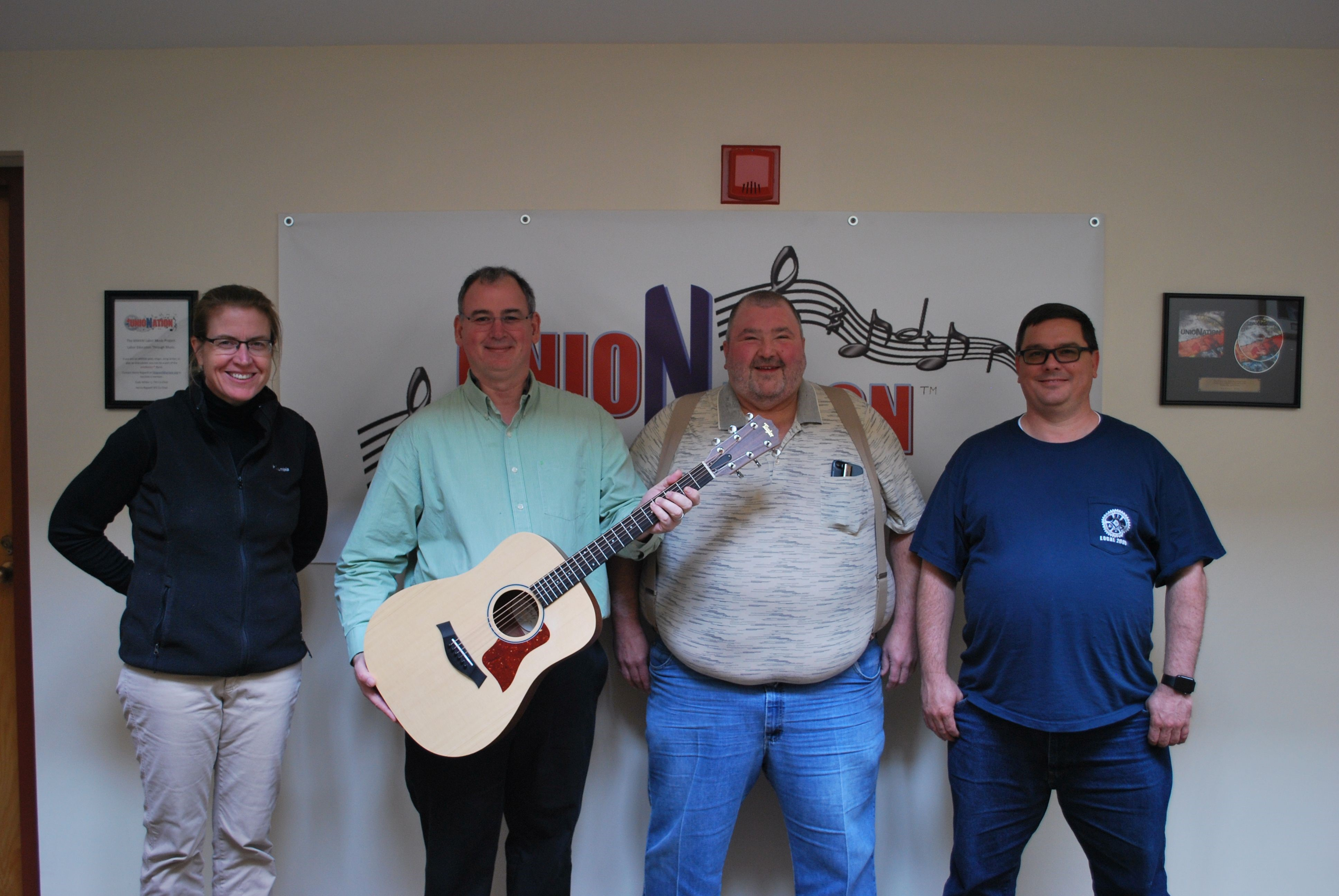 The Gift of a Guitar Bringing Members Together at Winpisinger Center