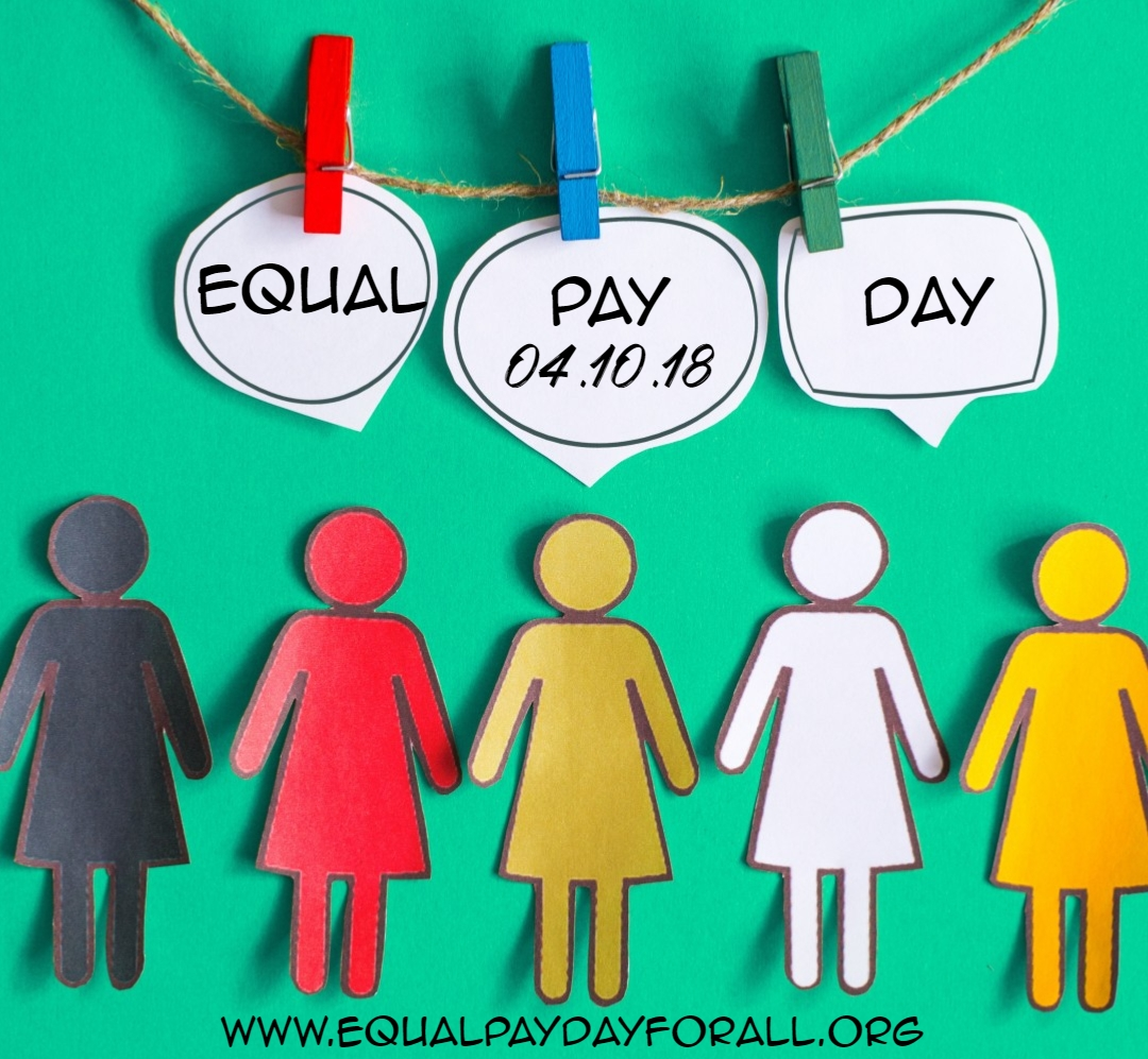 Tomorrow is Equal Pay Day