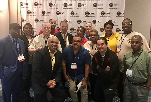 Machinists Make Strong Showing at CBTU Convention