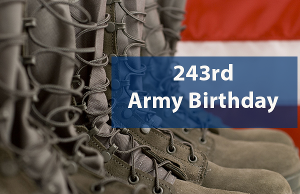Machinists Honor U.S. Army on 243rd Birthday