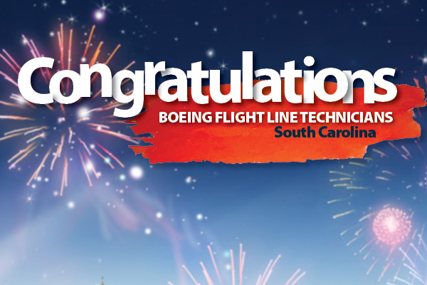 Machinists Call on Boeing to Negotiate in South Carolina