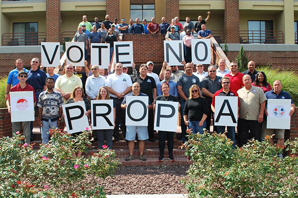 Missouri Members Out to Defeat Prop A