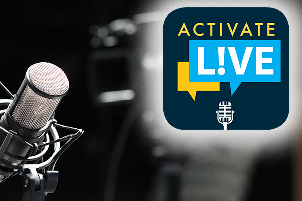 Get Out the Vote and State of the Unions on Activate L!VE