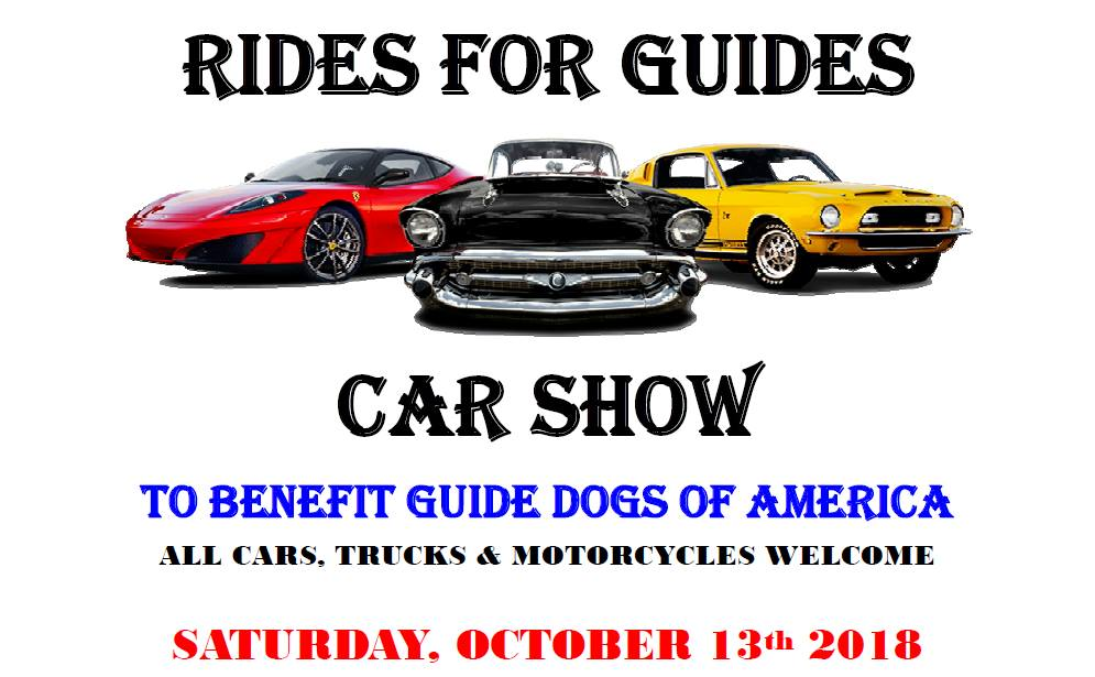 Maryland Car Show to Raise Money for Guide Dogs