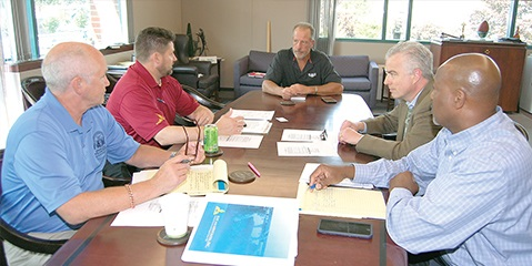First Contract for District 751 Members at Whidbey Island Naval Air Station