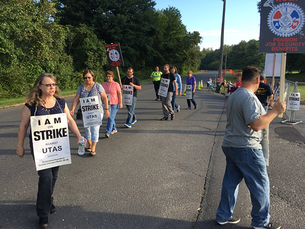 Connecticut Local 62A on Strike for Fairness at UTC