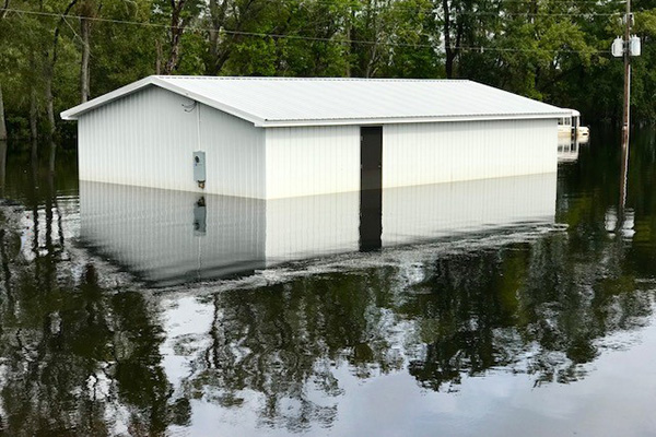 Machinists on Ground to Help with Florence Recovery