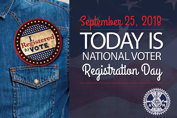 Are You Registered for this November's Elections?