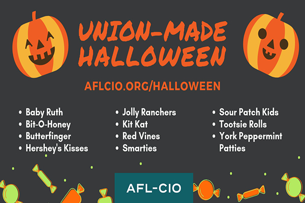 There's No Trick to Give Union-Made Treats on Halloween