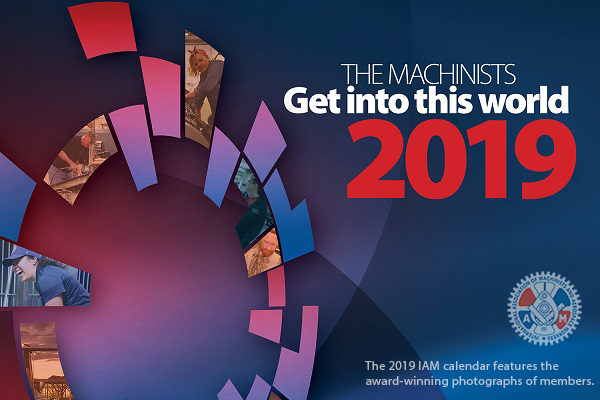 Order Your 2019 IAM Calendar Today