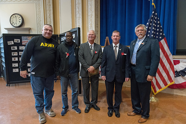 IAM Veterans Honored at Government Printing Office