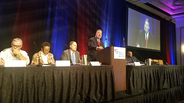 IP Martinez Delivers Rousing Speech to Alliance for Retired Americans