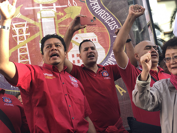 Machinists Stand with Mexican Workers Seeking Free, Independent Unions