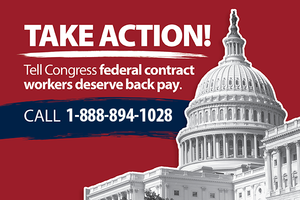 How You Can Help Federal Contractor Workers Get the Back Pay They Deserve