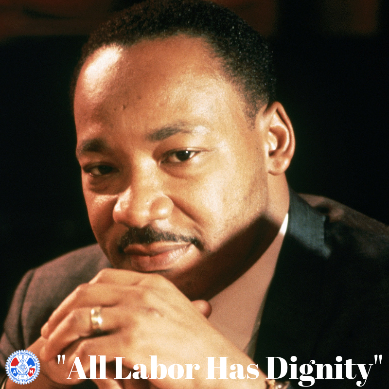 IAM Celebrates MLK Day