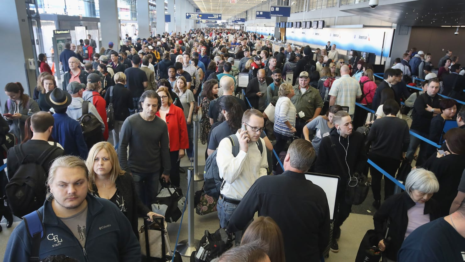 US Government Shutdown Affects Airport Operations