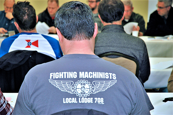 Local Lodge 708 On Strike