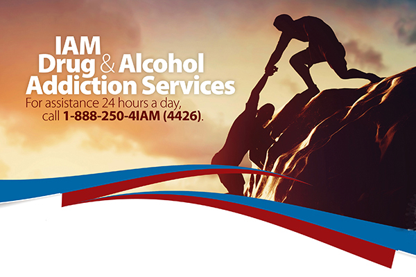 Follow IAM Addiction Services on Facebook