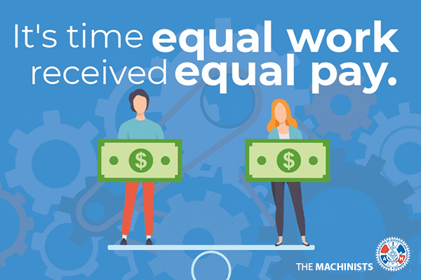 It's Time for Equal Pay