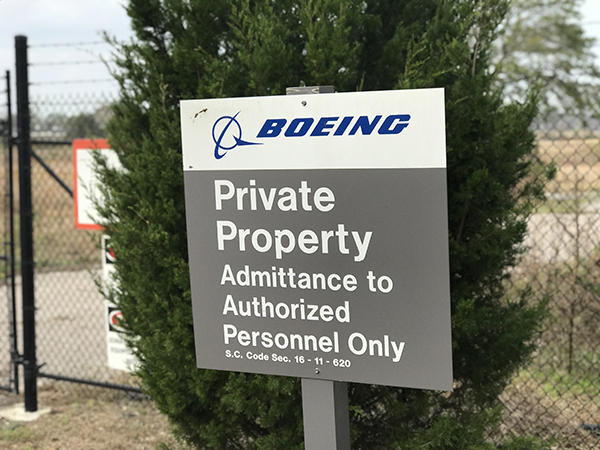 Demand Dignity, Respect for Unjustly Fired Boeing SC IAM Members
