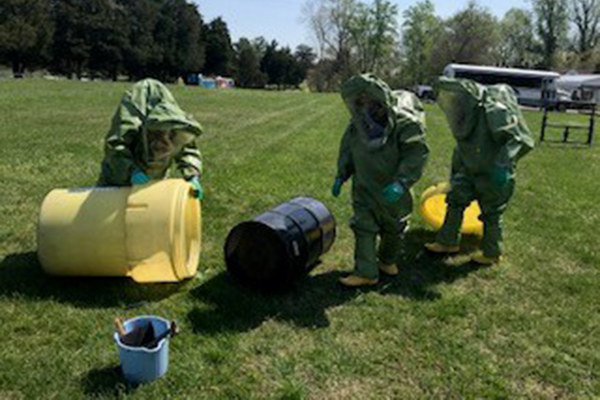 IAM CREST Holds HAZMAT Training