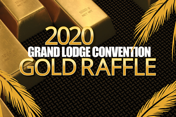 Go for the Gold to Support the IAM 2020 Convention
