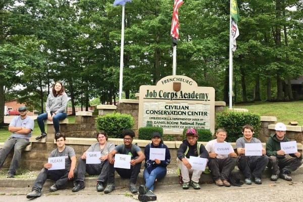 NFFE-IAM Members Mobilize to Save Job Corps Civilian Conservation Centers