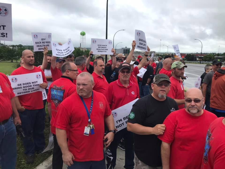 IAM Members at GE Reject Final Contract Offer
