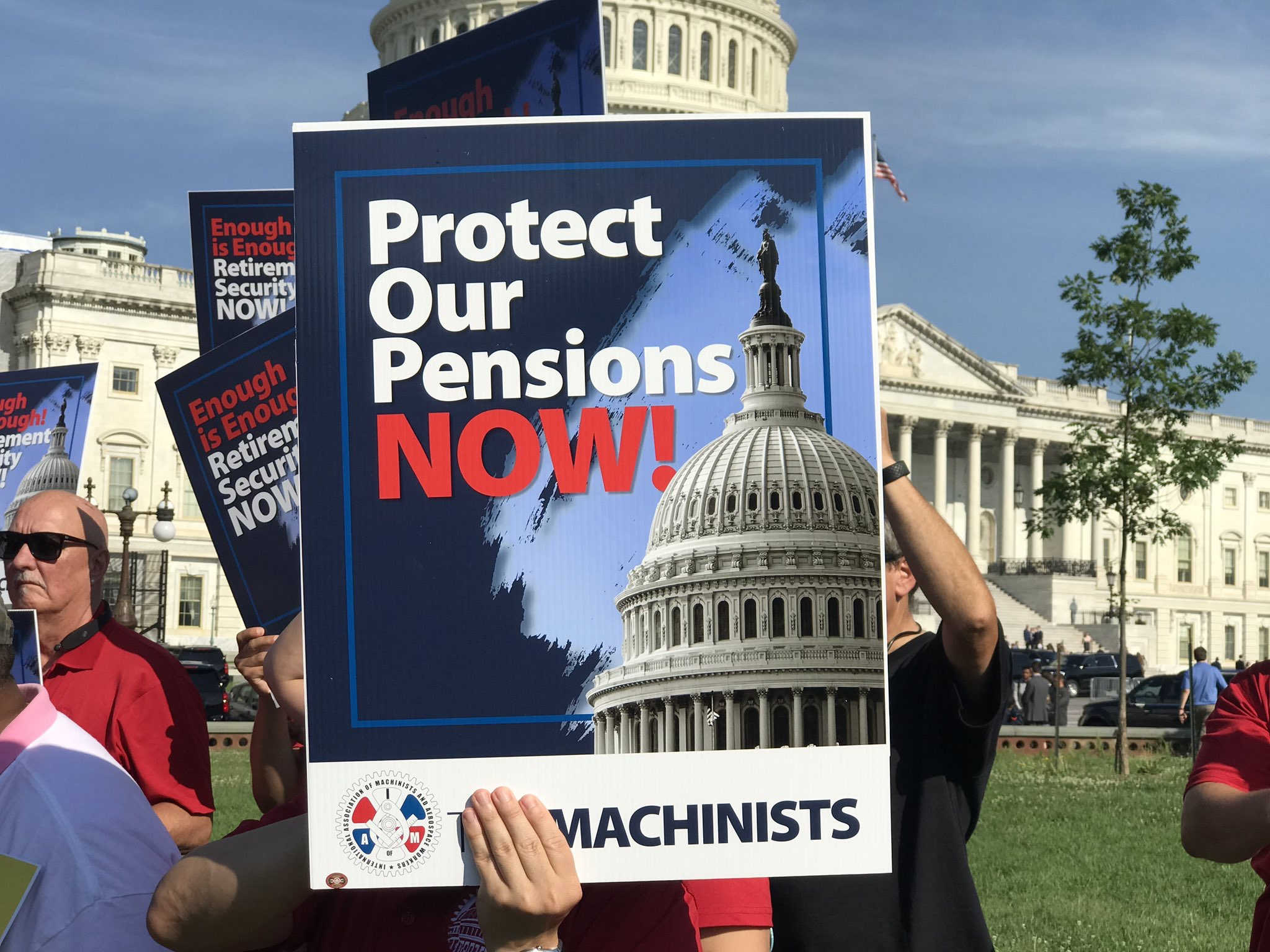 IAM Rallies To Protect Retirement Security