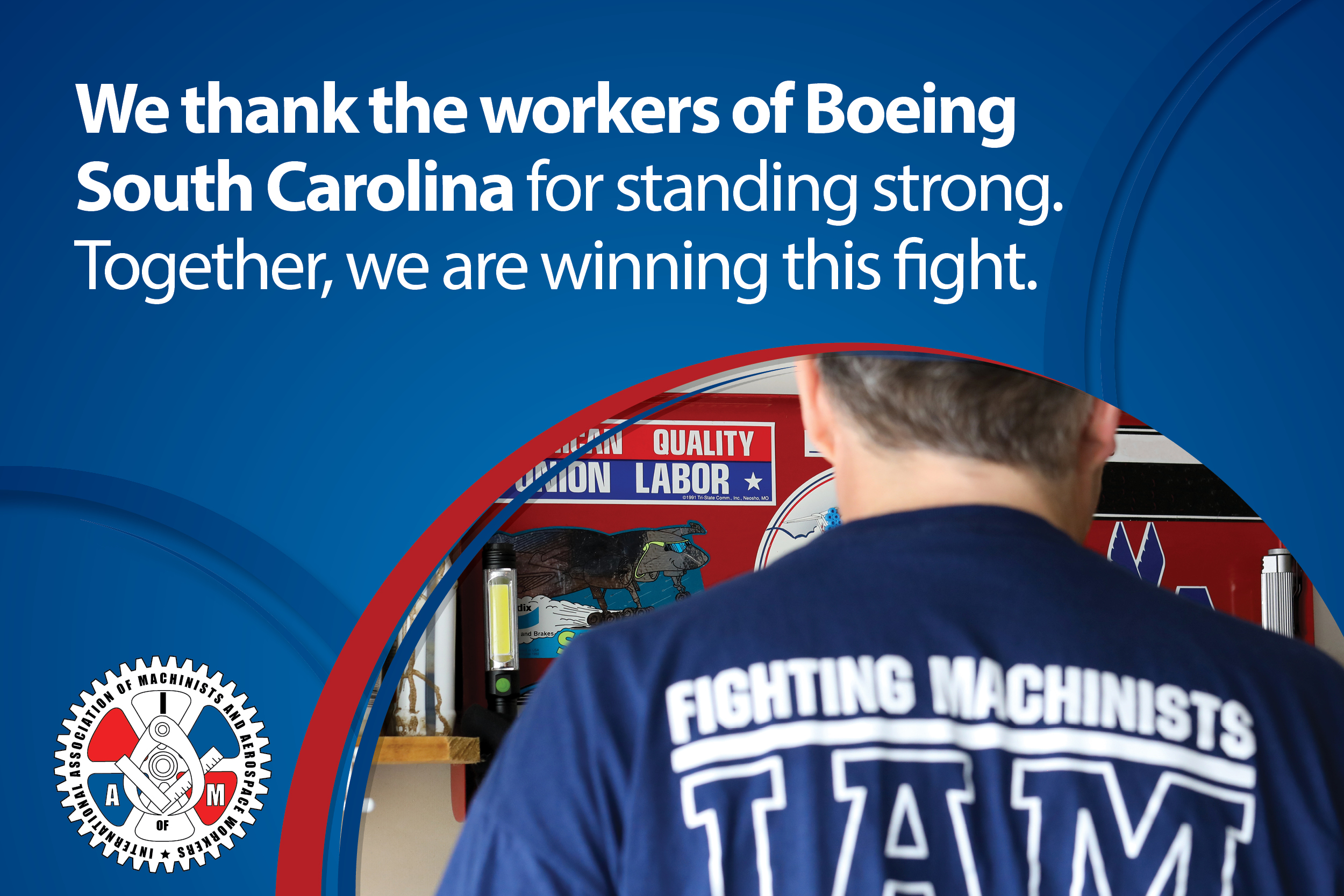 Unjustly Fired Machinists Union Members Win Critical Legal Battle at Boeing South Carolina
