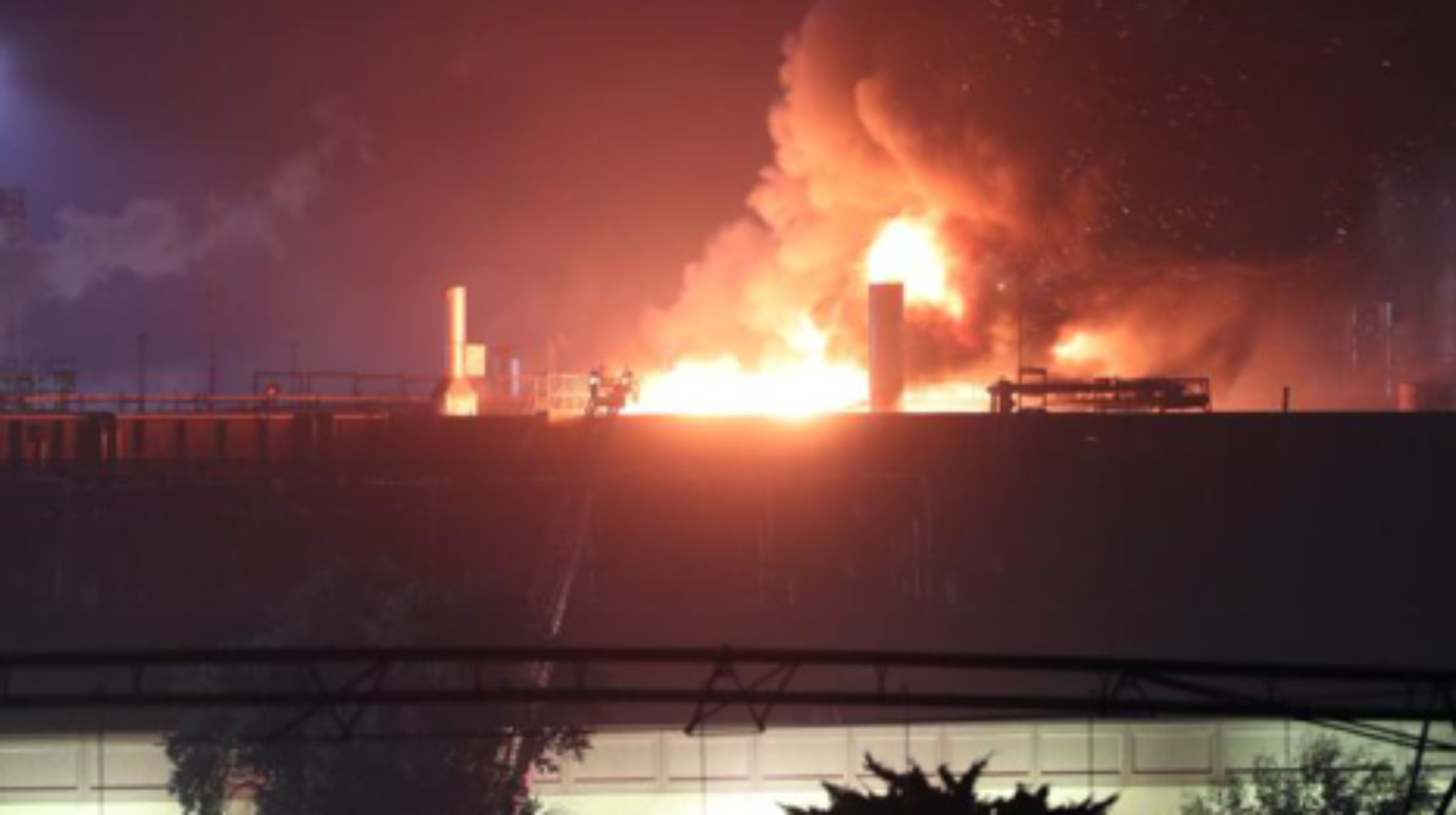 Kansas Local 1989 Members Survive Fire at Tyson