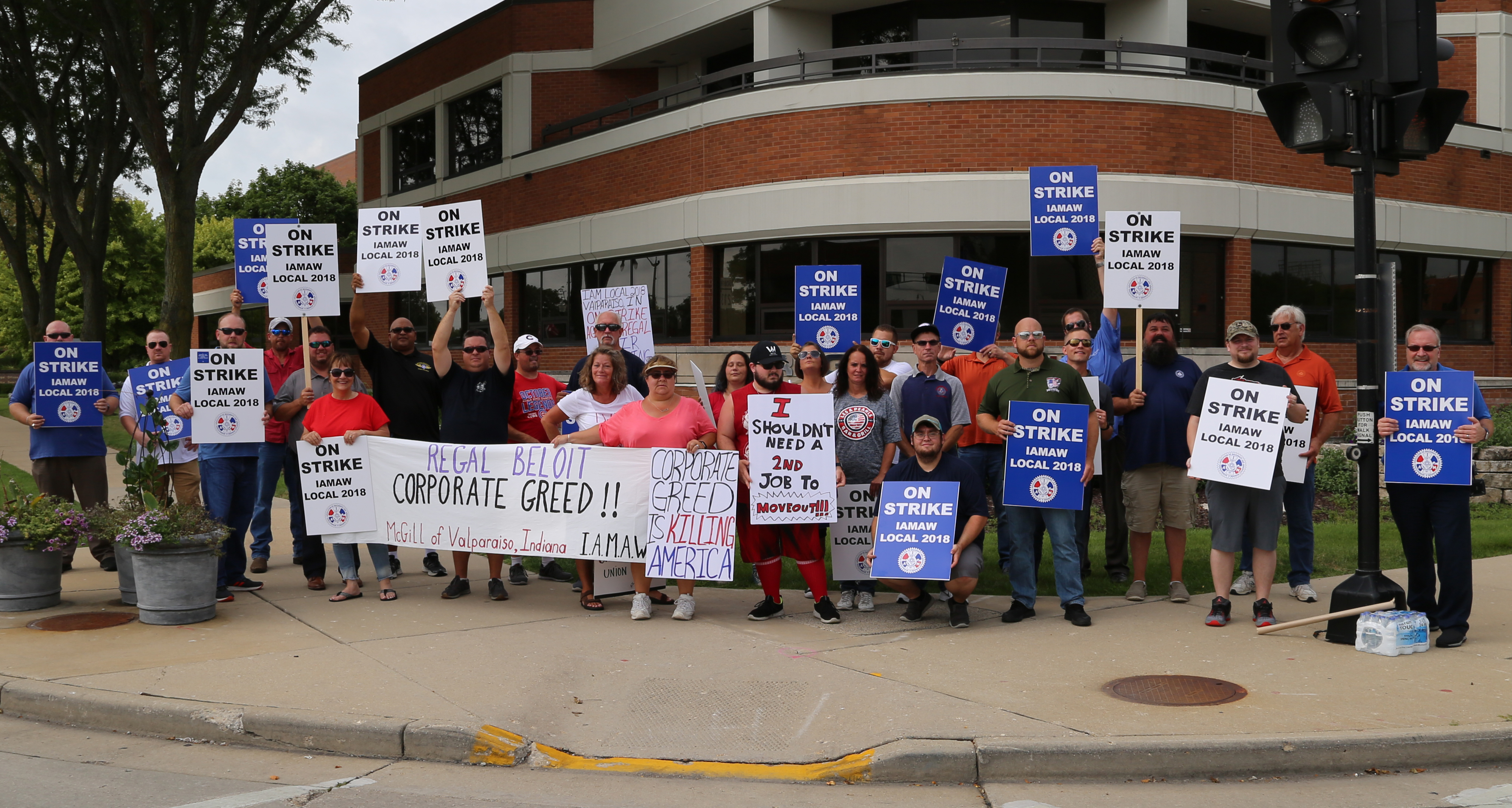 Machinists Union Asks Trump, Pence to Urge Regal Beloit to Reconsider Indiana Plant Closure