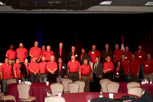Machinists Show Strong Presence at Metal Trades Conference
