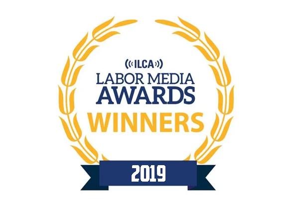 IAM Communications Department Wins Labor Journalism Honors