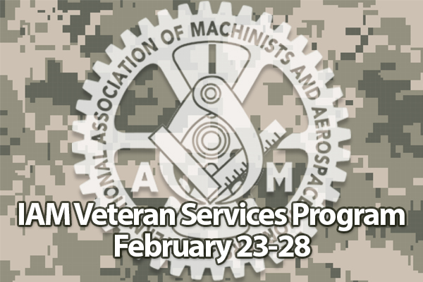 Register Now for the 2020 IAM Veterans Services Program