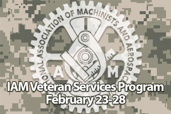 Register Now for the 2020 IAM Veterans Services Program