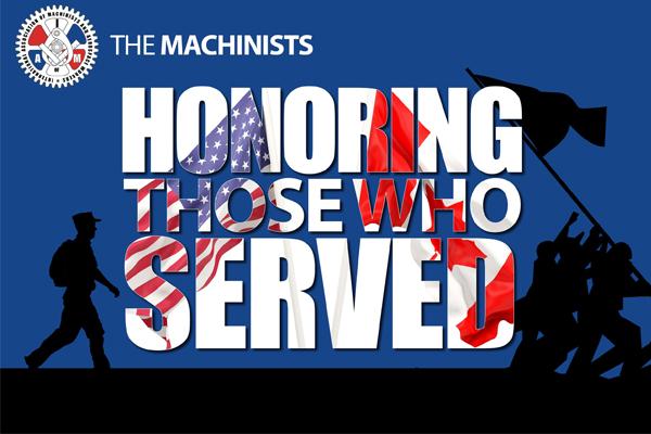 We Honor Those Who Serve