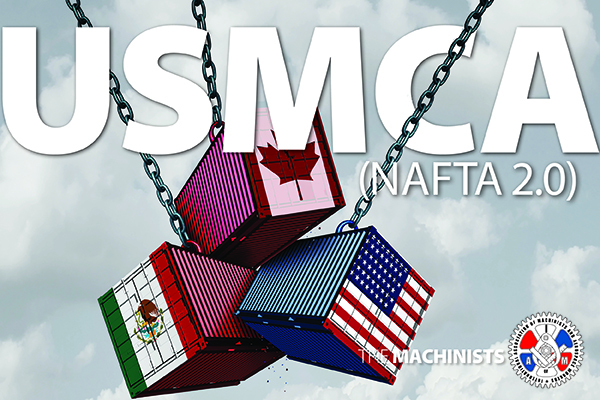 Machinists Thank Lawmakers Who Voted Against Flawed USMCA Trade Proposal