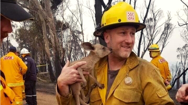 NFFE Forest Service Members Volunteer and Deploy to Help Australia Fight Wildland Fires
