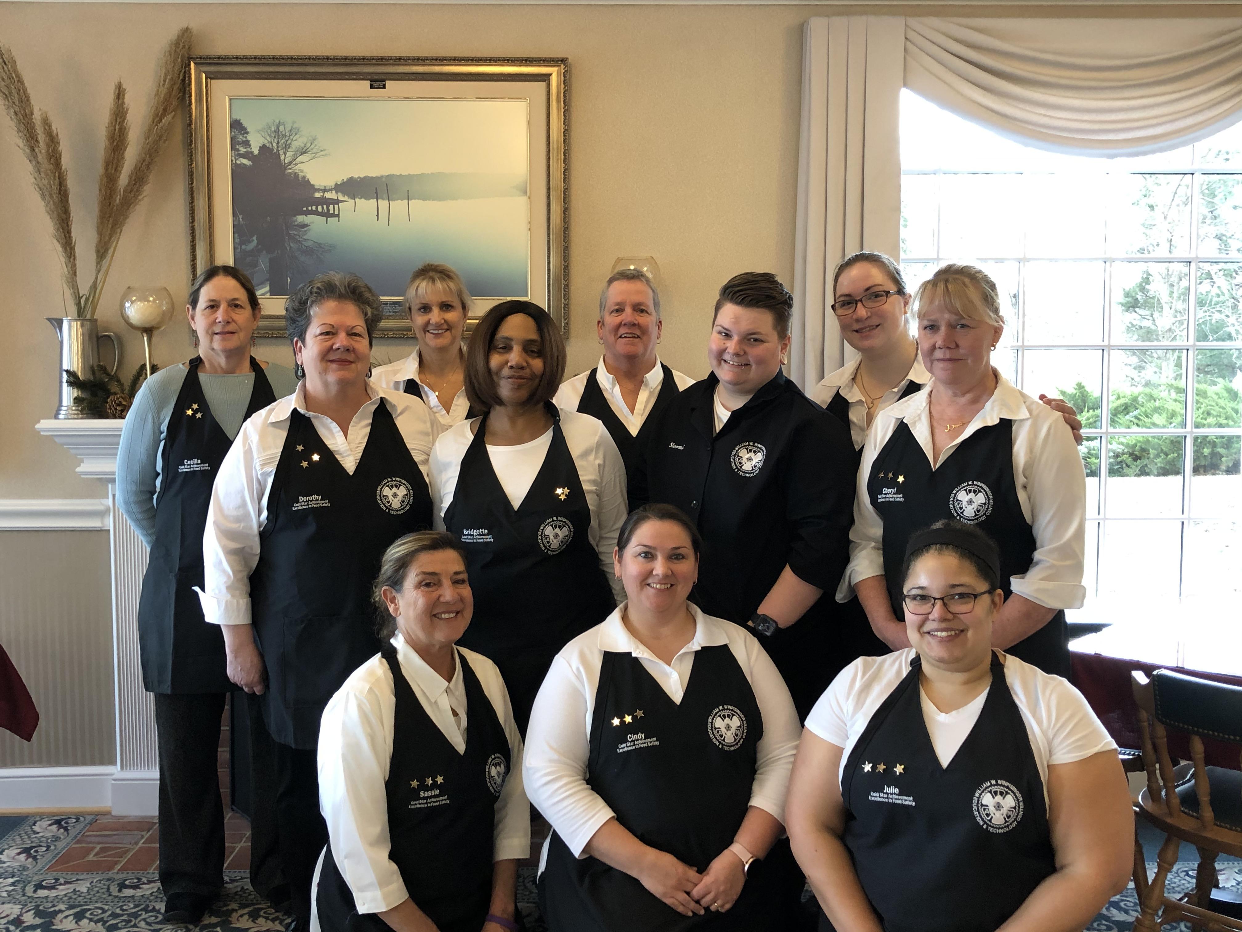 Winpisinger Center's Dining Hall Wins Third Straight Gold Star