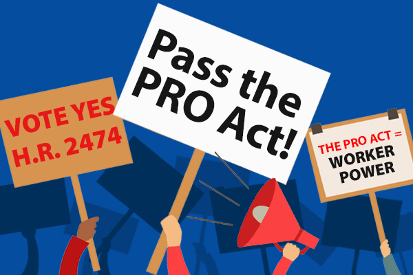 WRITE IN: Tell Congress to Pass PRO Act